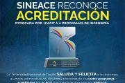 SINEACE ENTREGÓ ACREDITACIONES A 4 PROGRAMAS DE INGENIERÍA DE LA UNT