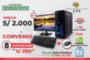 CONVENIO UNT CON EMPRESA MACROCHIPS PARA ADQUISICIÓN DE COMPUTADORAS