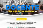 DOCENTES UNT RECIBEN BONO PARA ADQUIRIR LIBROS UNIVERSITARIOS
